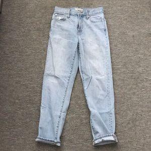 Madewell High-Waisted Boyfriend Jeans